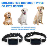 Arrival Ip67 Waterproof Pet Collar Gsm Agps Wifi Lbs Light Gps Tracker For Pets Dogs Cats Cattle Sheep Tracking Locator
