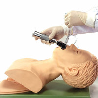 220V Intubation Manikin Study Teaching Model PVC Airway Management Trainer Medical School Student Educational Learning Supply