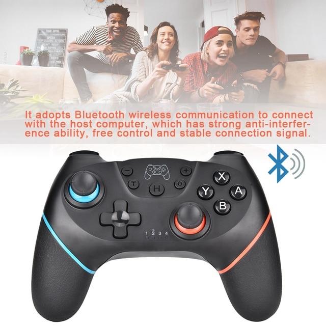 Беспроводной Bluetooth геймпад игровой контроллер Joypad для nintendo переключатель игровой консоли на продажу