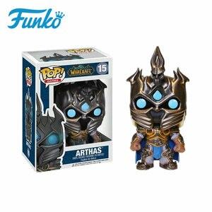 Image 2 - FUNKO POP WOW World of Warcraft Theme #14 ILLIDAN #15 ARTHAS #30 SYLVANAS Action Figures Toy Collectible Model Vinyl Dolls