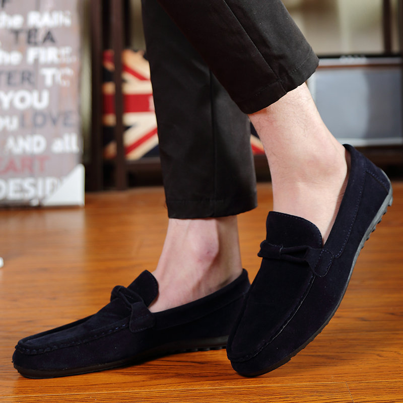 Flats Casual-Shoes SHARK Sneakers Men Fashion Brand Hot STAN Driving-Moccasins Suede