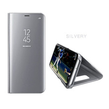 Xiaomi Mi A1 A2 Smart Leather Flip Case For Xiaomi Mi 5C Redmi 5 Clear View Mirror Cover For Mi 8 8SE Mix 2 Redmi5 Plus Note3 все цены