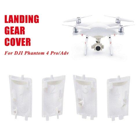 1Set 4Pcs Landing Gear Cover Case Repair PartsBody Shell Repair Spare Parts For DJI For Phantom 4 Pro/Adv Drone New Arrival Pakistan