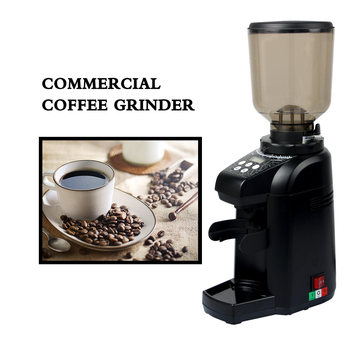ITOP Coffee Grinders Commercial Bean Milling Machine Burr Grinder 180W 500g Hopper Capacity Red/Black/Grey Color