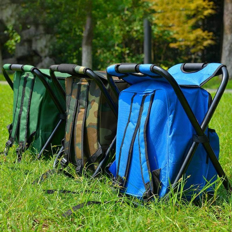 Waterproof Folding Camping Fishing Chair bag Stool Backpack with Cooler Insulated Picnic Bag Hiking Camouflage Seat Table BagWaterproof Folding Camping Fishing Chair bag Stool Backpack with Cooler Insulated Picnic Bag Hiking Camouflage Seat Table Bag