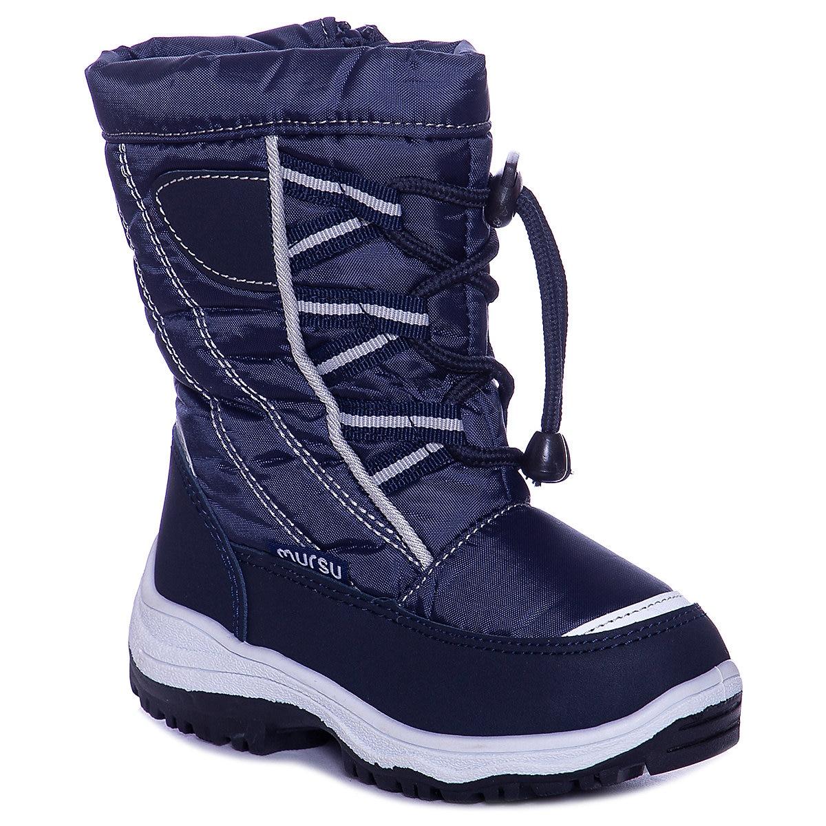 MTpromo MURSU 8739429 Botas de Lã De Inverno Meninos crianças sapatos menino