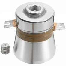 1 шт. 60 Вт 40 кГц Высокая эффективность преобразования ультразвуковой пьезоэлектрический преобразователь очиститель Высокопроизводительные акустические комплектующие