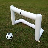 160cm White Inflatable Soccer Net Environmental Friendly PVC Belt Net Inflatable Soccer Goal Good Quality Useful Equipment
