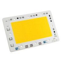 CLAITE 5pcs LUSTREON Warm White 150W 15000LM DIY COB LED Light Chip Bulb Bead 160x100mm For Flood Light AC 110V