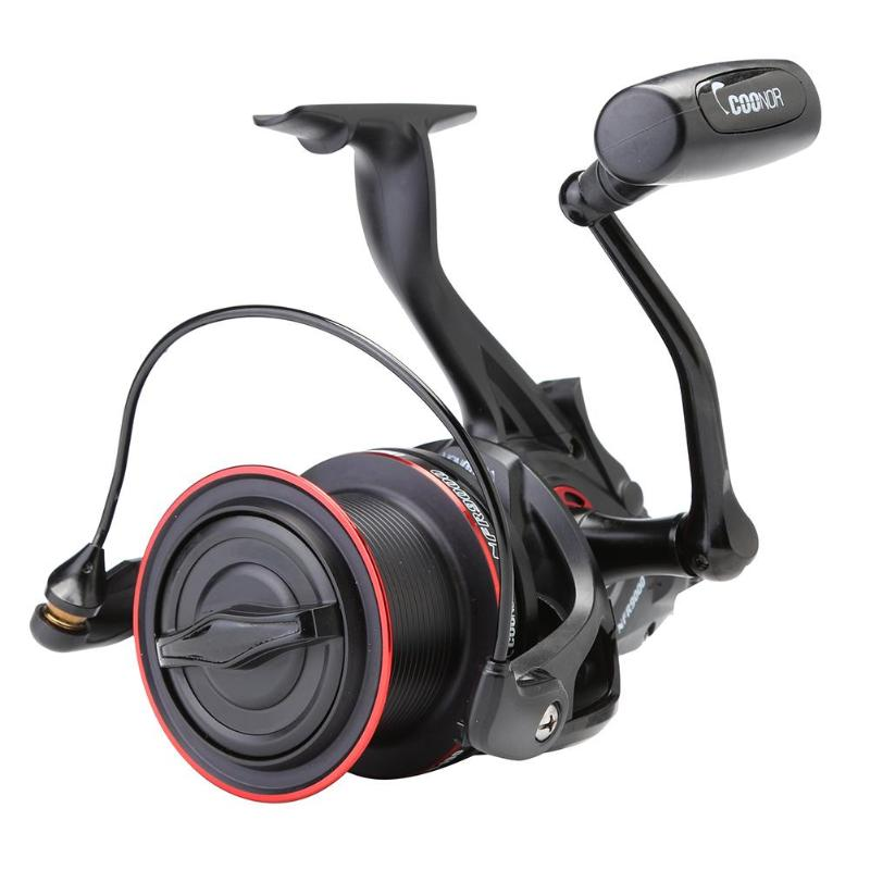 NFR9000 8000 All Metal Dual Line Cup Spinning Sppool Fishing Reel Tackle Double unloading squid spinning