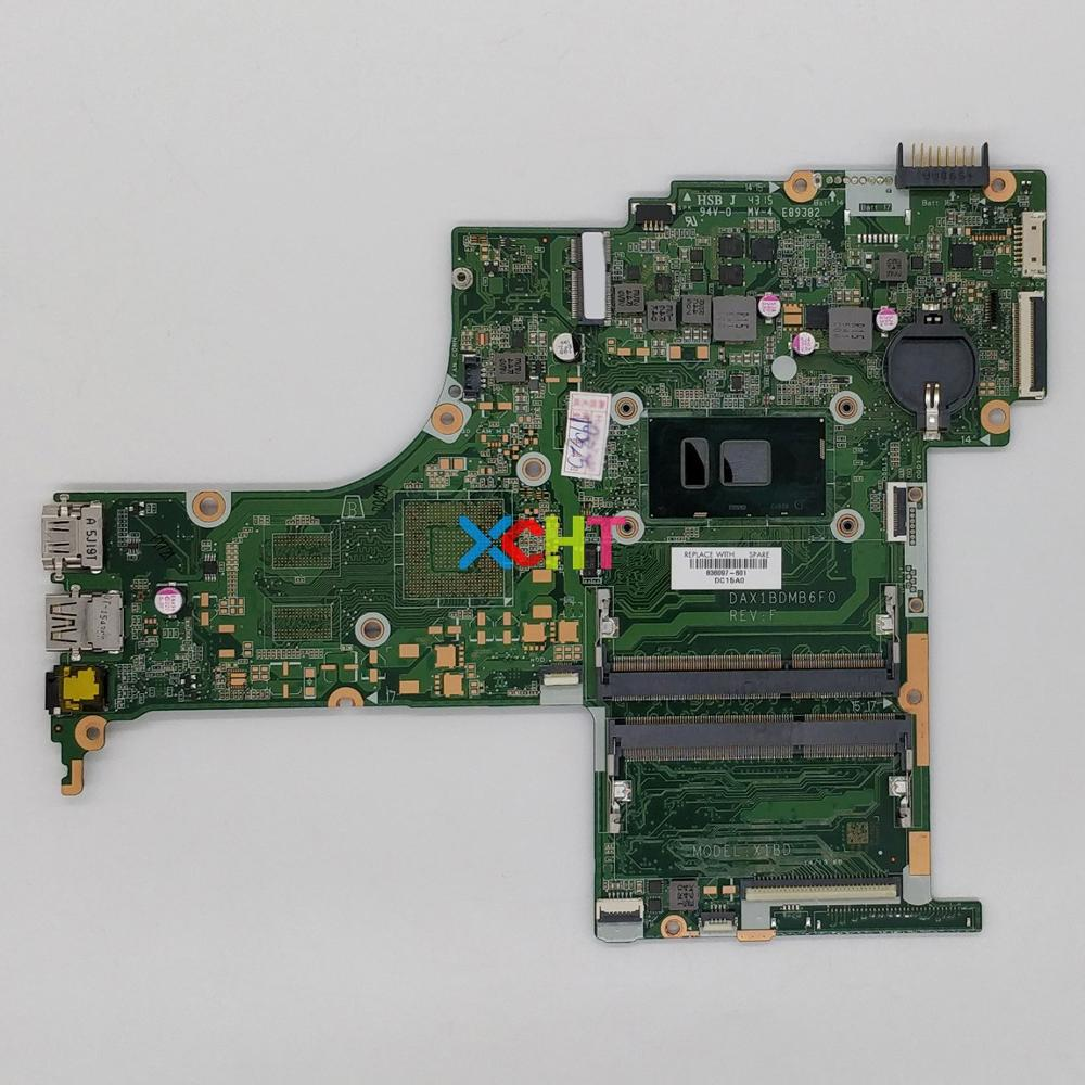 836097 601 UMA W I5 6200U CPU DAX1BDMB6F0 For HP PAVILION NOTEBOOK 15 AN044NR 15 AN050CA 15 AN050NR Motherboard Mainboard Tested