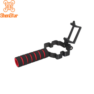 Image 4 - Drone Modified Kit Handheld Gimbal Stabilizer Vertical Shooting Phone / Remote Clip Holder Bracket for DJI MAVIC 2 PRO Zoom PTZ