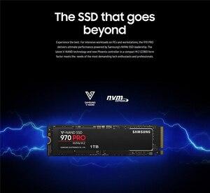 Image 5 - Samsung 970 pro unidade de estado sólido, ssd nvme série 512gb 1tb m.2 pci express 3.0x4 mlc m.2 2280 para laptop
