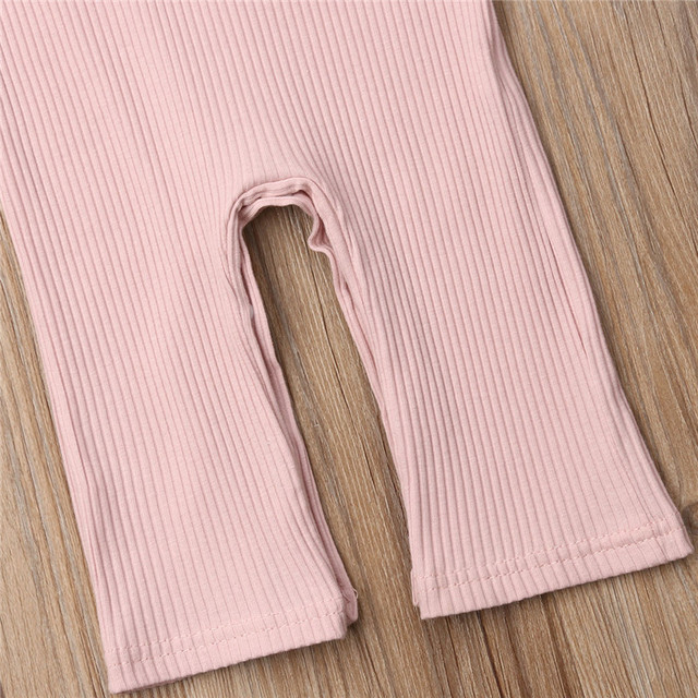 Newborn Full Sleeve Romper Solid Long Pant Jumpsuits Spring Outwear Cotton Outfits Baby girl Boy Clothes 5
