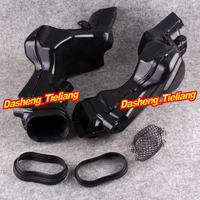 Motorcycle Ram Air Intake Tube Duct Fairing Kit For Suzuki 2007 2008 GSXR1000 K7 GSXR 1000
