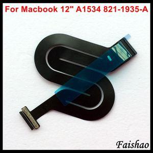 """Image 2 - Faishao Nuovo Touchpad Trackpad Cavo Della Flessione Del Nastro 821 1935 A 821 00507 A Per Apple Macbook 12 """"Retina A1534 2015 2016 2017 Anno"""
