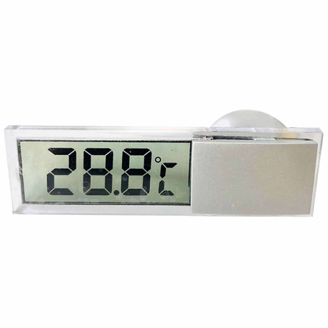 New   Weather Station LCD Digital Car Thermometer Thermostat Timer Clock Temperature Instruments Sensor Wall Type Meter -20-110C