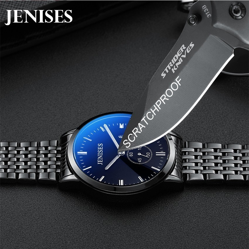 Fashion Casual Simple Watch Men Ultra Thin Quartz Steel Scratchproof Waterproof Mens Watches Top Brand Luxury Relogio Masculino