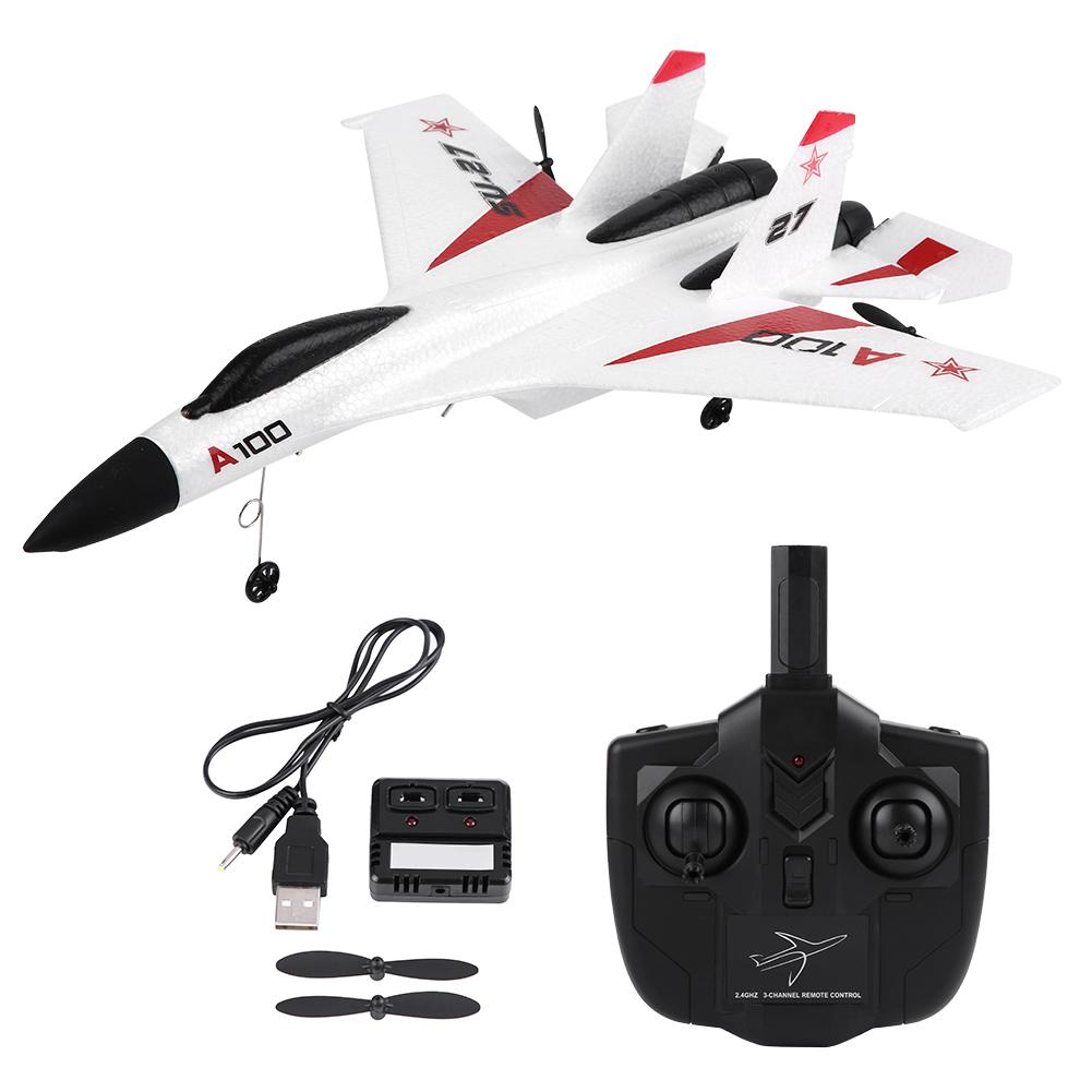 WLtoys XK A100 SU27 3 Channels EPP Fixed wing Plane Airplane Remote Control Glider for children