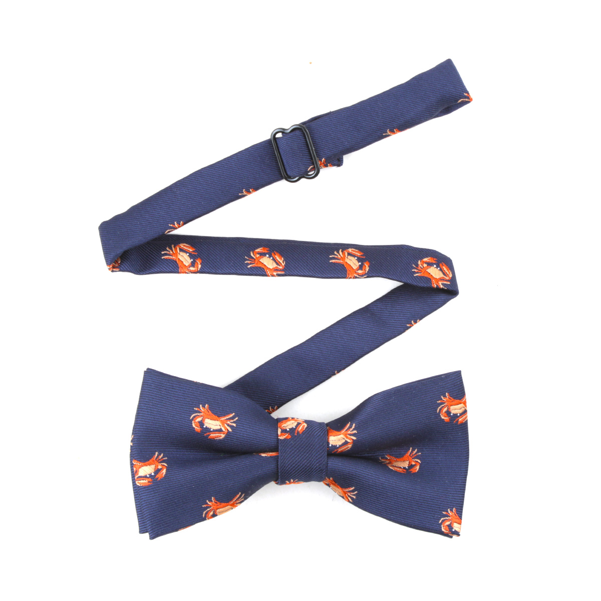 Polyester Bowtie  Cute Crab Pattern  Necktie Boy Men's Fashion Business Wedding Bow Tie Male Dress