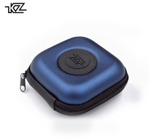 XLtrade KZ PU Case Bag Earphone Headset Accessories Protable Case Pressure Shock Absorption Storage Package Case Bag With Logo