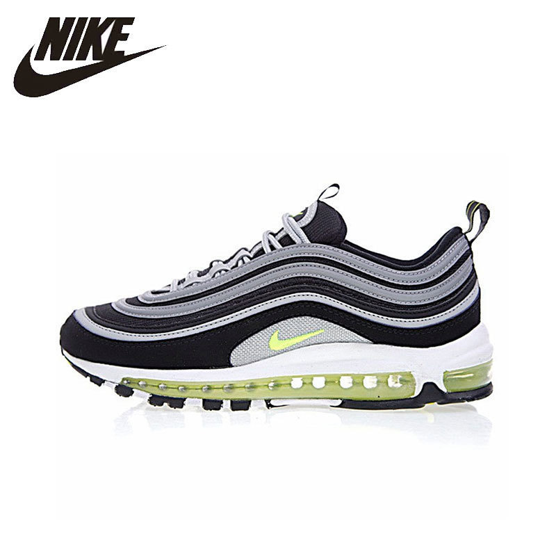 Nike Air Max 97 беговые кроссовки для мужчин дышащий для занятий спортом на улице обувь беговые кроссовки удобные кроссовки #921826 004