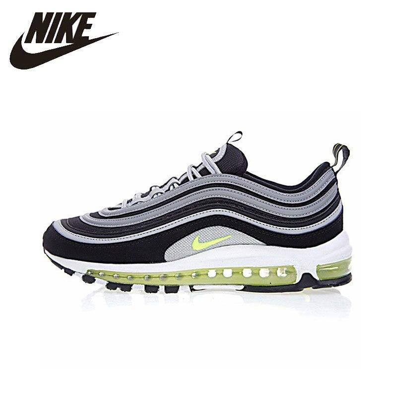 Nike Air Max 97 chaussures de course pour homme respirant chaussures de Sport en plein Air Jogging baskets confortables #921826-004