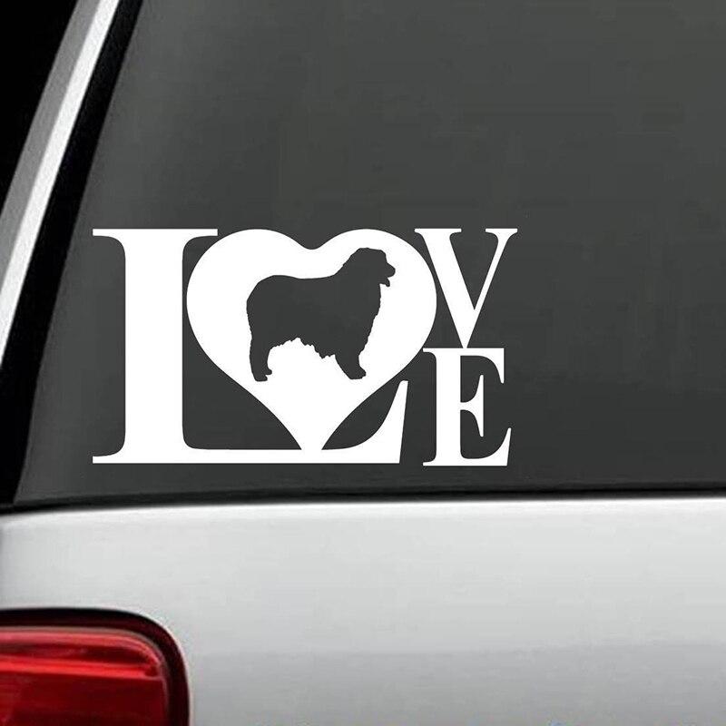Australian Shepherd Love Dog Decal Sticker for Car Truck Art Painting Stickers Vinyl Decor Decals