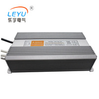 CE Rohs approved waterproof 250w 110v 220v ac to dc 24v power supplies