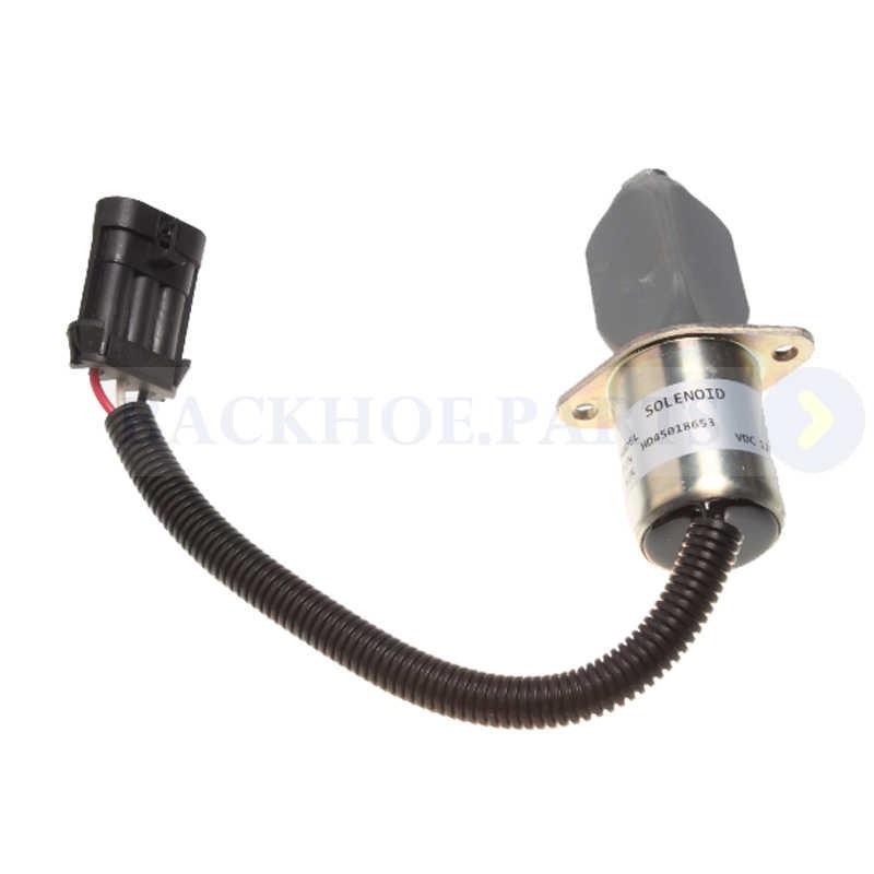 12 V Diesel Penutup Solenoid Valve 7136559 untuk Bobcat A220 S100 S130 S150 S160 S175 S185 S205 S220 S250