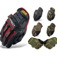 2018 Brand New Fashion Touchscreen Tactical Cycling Motorcycle Combat Hard Knuckle Full Finger Gloves