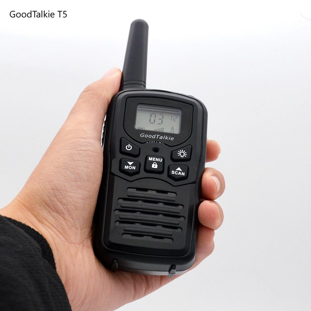 Image 3 - 2pcs GoodTalkie T5 long range two way radios travel walkie talkie 10 km-in Walkie Talkie from Cellphones & Telecommunications