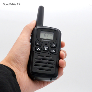 Image 3 - 2pcs GoodTalkie T5 long range two way radios travel walkie talkie 10 km