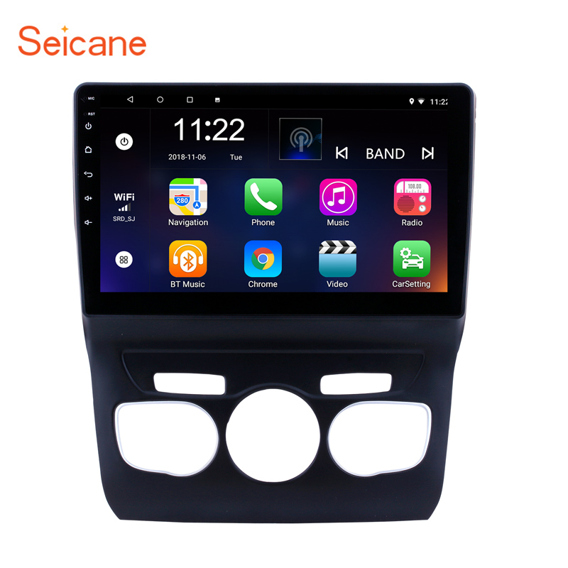 Seicane 2Din Android 8 1 10 1 Inch Car Bluetooth Wifi Multimedia PLayer Radio GPS Navigation