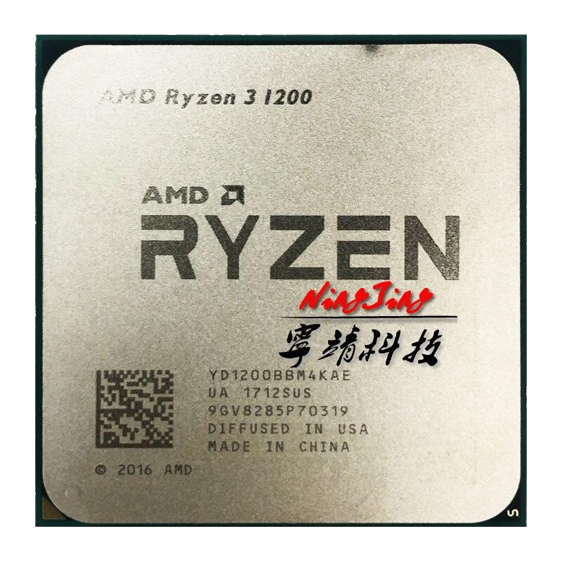 AMD Ryzen 3 1200 R3 1200 3.1 GHz Quad Core Quad Thread di CPU Processore YD1200BBM4KAE Presa AM4-in CPU da Computer e ufficio su  Gruppo 1