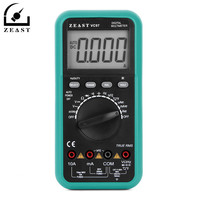 ZEAST VC97 Digital Multimeter 3 3/4 Voltmeter AC/DC Capacitor Frequency Tester Meter LCD Probe Electric Leads Instruments
