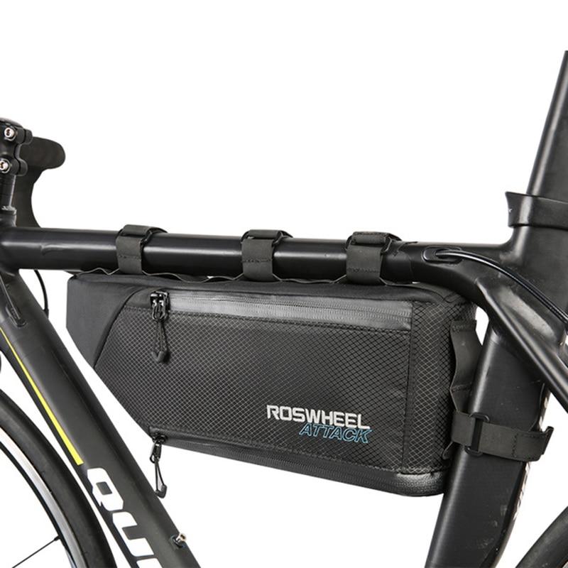 LGFM ROSWHEEL ATTACK Series 121371 Waterproof Bag Top Front Frame Tube Triangle Bag