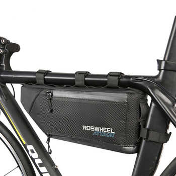 LGFM-ROSWHEEL ATTACK Series 121371 Waterproof Bag Top Front Frame Tube Triangle-Bag - DISCOUNT ITEM  15% OFF Sports & Entertainment