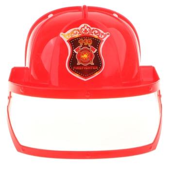 Children Fireman Helmet Firefighter Hat Fancy Dress Accessories Kids Halloween Party Role Play Toy tote bag