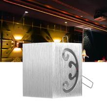 Dimmable AC 85V-265V 3W LED Wall Light Warm White Sconce Lamp for Home Bedroom Bar Cafe Restaurant modern wall lamp modern concise creative art fashion white black wall lamp cafe bar restaurant bedroom office aisle decoration lamp free shipping