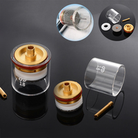 5pcs TIG Welding Torch Cup Champagne Stubby Cup Gas Collet Nozzle Kit for WP 9/20/25 3/32 2.4 mm