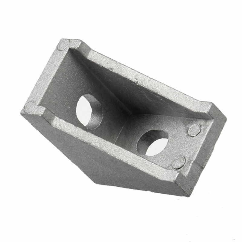 10 piezas AJ28 junta de esquina de ángulo de aluminio 28x28mm soporte de ángulo recto accesorios de muebles duraderos