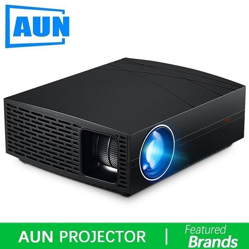 Alibaba グループ 上の アウン HD プロジェクター F20 、 4000 ルーメン 1280*800 1080P 、 HD IN 、 VGA 、 USB 、ハイファイスピーカー、ホームシネマ (オプションのアンドロイドバージョン Suppor 1080 1080P 、 4 18K 、 AC3) 1