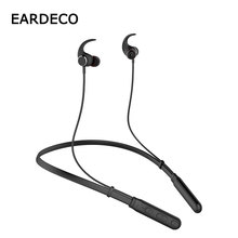 EARDECO Bluetooth Earphone Headphone Sport Wireless Headphones IPX5 Waterproof Wireless Earphones Headset with mic for Phone wireless bluetooth earphones ipx5 waterproof sports headphones lightweight neckband headset with mic noise cancellation