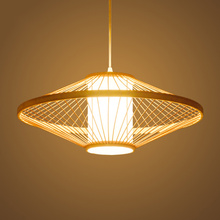 Chinese LED Pendant Lamps Southeast Asian Hand Knitted Pendant Lights Restaurant Luminaire Hanging Lamp Bedroom Hanging Lamp vintage wicker pendant lamp hand made knitted hemp rope iron coffee shop pendant lamps loft lamp american lamp free shipping