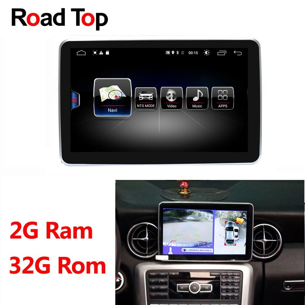 Exibição Android para Mercedes Benz SLK 2011-2015 200 250 300 350 55 AMG Multimídia Rádio Do Carro Monitor de GPS navegação Do Bluetooth