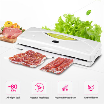 Full-automation WP300 Household Food Vacuum Sealer Packaging Machine Home Food Preservation Including 10Pc Vacuum Bags