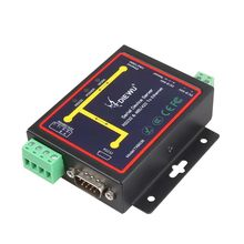 Industriale Seriale Modbus RS232 RS485 RS422 al Convertitore di Ethernet Device server TCP/RTU/UDP RJ45 per RS232 + RS485 Connettore