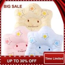 New Cartoon Star Shape Newborn infant memory foam pillow neck protection baby care bedding set concave massage sleeping pillow