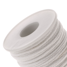 New Hot Spool of Cotton Braid Candle Wicks Wick Core Candle Making Supplies Home Garden Decoration Accessories